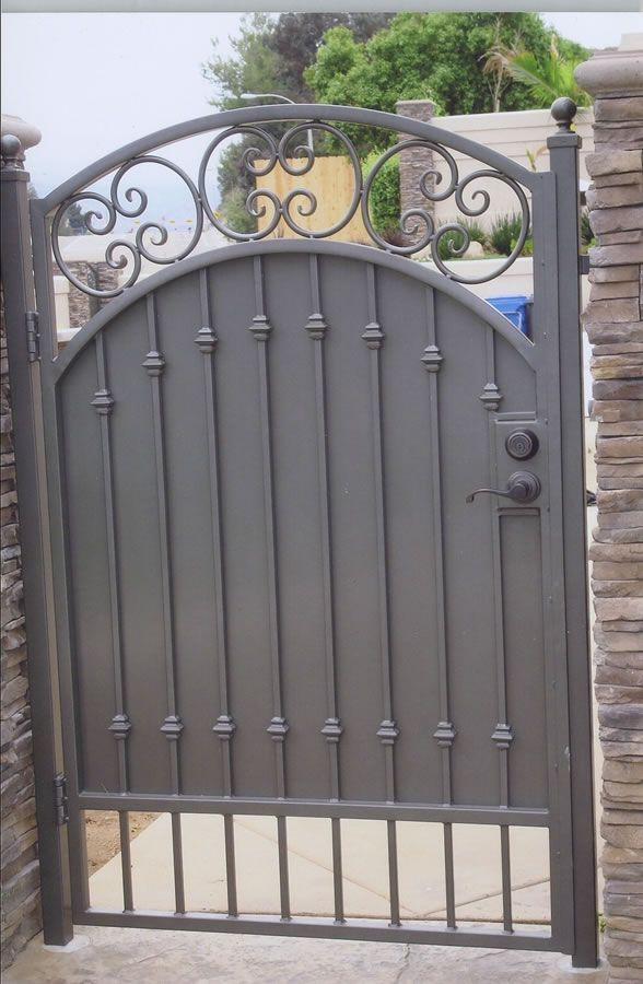 Image Result For Grey Wrought Iron Fence With Images Wrought