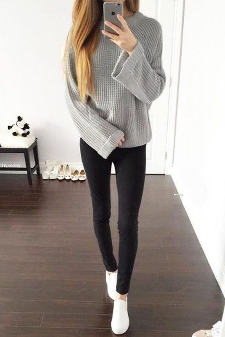 40 Beautiful And Comfy Fall Outfit Ideas To Wear Everyday -9694