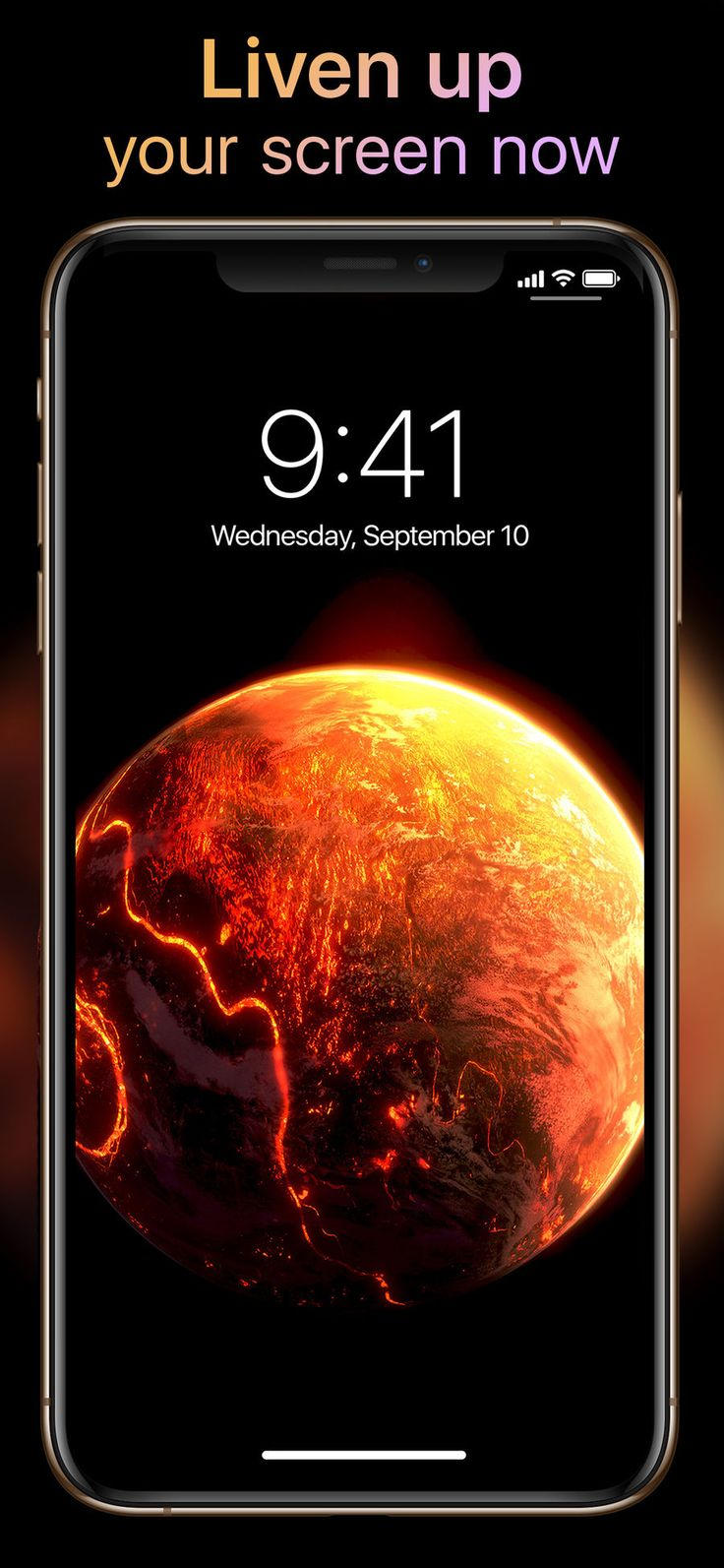 Live Wallpapers Now on the App Store Live wallpapers