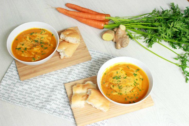 Wortel gember soep