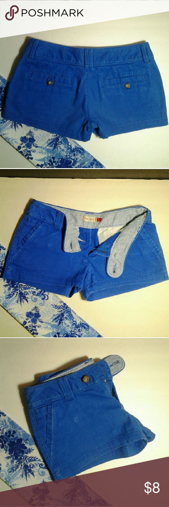 Red Camel Blue short Red Camel blue shorts ... 98%cotton  2%spandex.. machine wash cold gentle cycle inside out to reserve on color and prevent stains... excellent condition.. PRICE FIRM. Red Camel Shorts Cargos