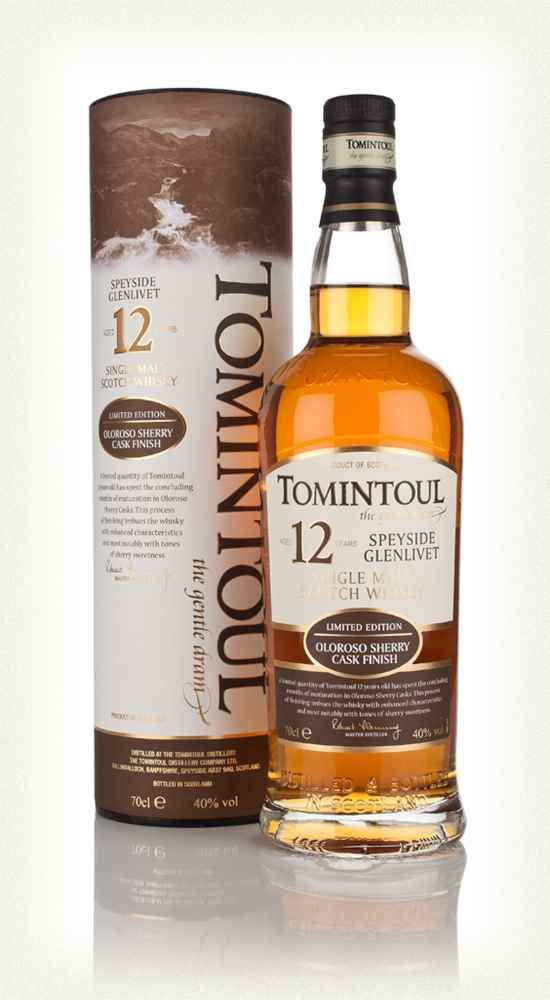 Tomintoul 12 Year Old Oloroso Sherry Cask - thanks Gerry