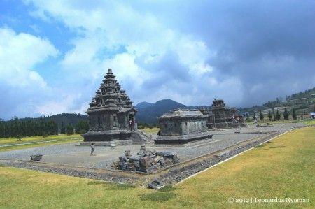 Candi Arjuna, Pegunungan Dieng, Jawa Tengah.