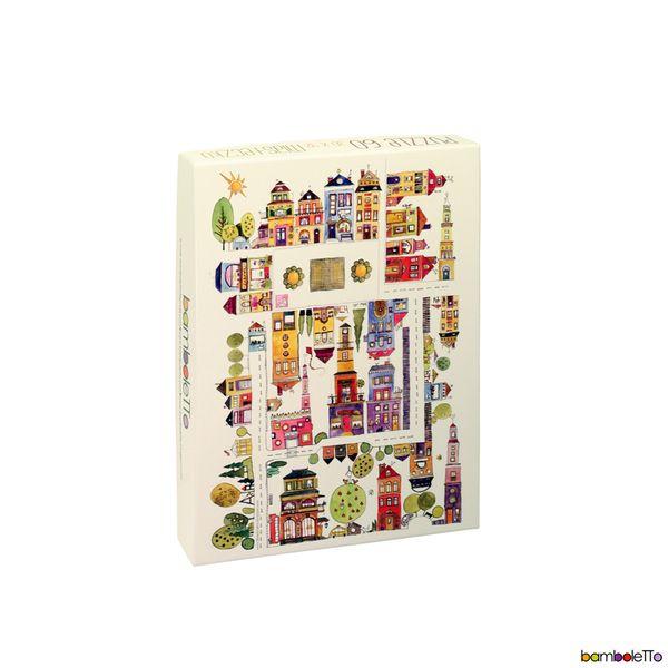Puzzle miasteczko  60 w bamboletto na DaWanda.com #niezchinzpasji