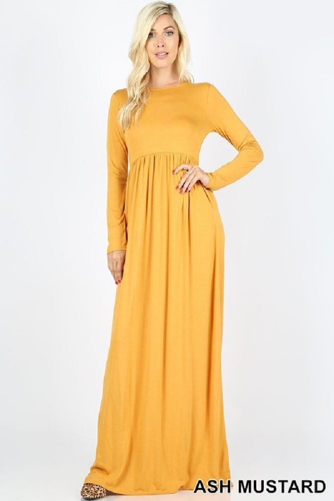 2f25ba670400c Pin by S&E Retail Expo on Maxi Dresses in 2019 | Maxi dress with sleeves,  Dresses, Fashion