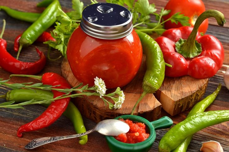 Домашний томатный кетчуп чили. Пошаговый рецепт с фото - Ботаничка.ru