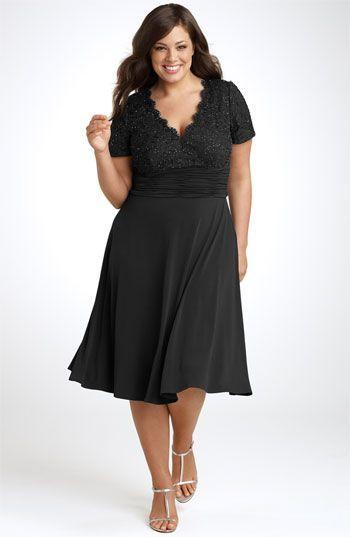 JS Boutique Beaded Lace Dress (Plus)   Nordstrom