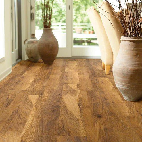 Suelo laminado de nogal americano / flotante / aspecto madera / para uso residencial LONG BOARD: MT.  EVEREST Shaw floors