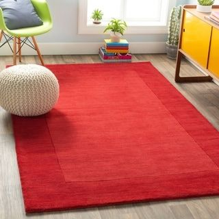Bordered Cryo Wool Area Rug