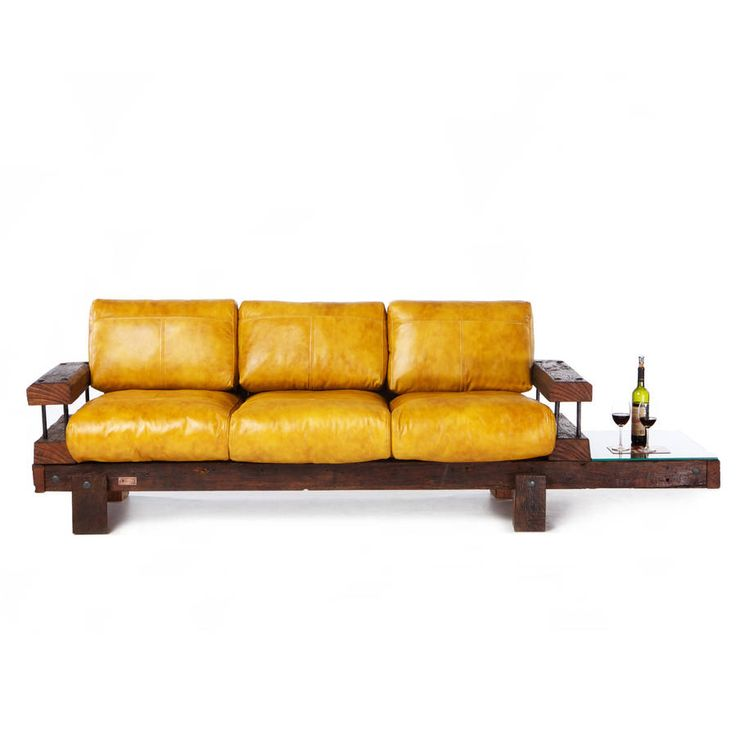 Sofa Tables Derby Reclaimed Oak And Leather Sofa