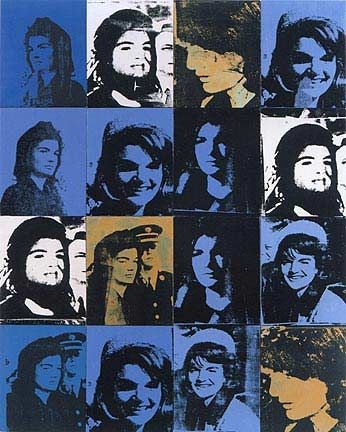 'Jackies', huile de Andy Warhol (1928-1987, United States)