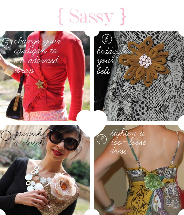 how to wear a brooch via @styleofsam: Charms Style