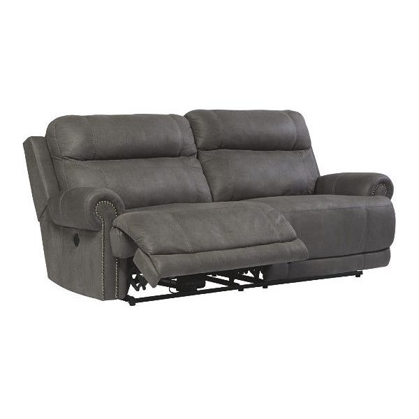 Austere - Gray - 2 Seat Reclining Sofa u0026 DBL Rec Loveseat w/Console by Signature Design by Ashley. Get your Austere - Gray - 2 Seat Reclining Sofa u0026 DBL Rec ...  sc 1 st  Pinterest & Best 25+ Grey reclining sofa ideas on Pinterest | Cream downstairs ... islam-shia.org