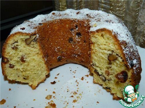 Кекс вкуснейший творожный - кулинарный рецепт