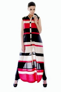 Love bold stripes and graphics on Pakistani wear. Generation Spring/Summer Collection 2012/13