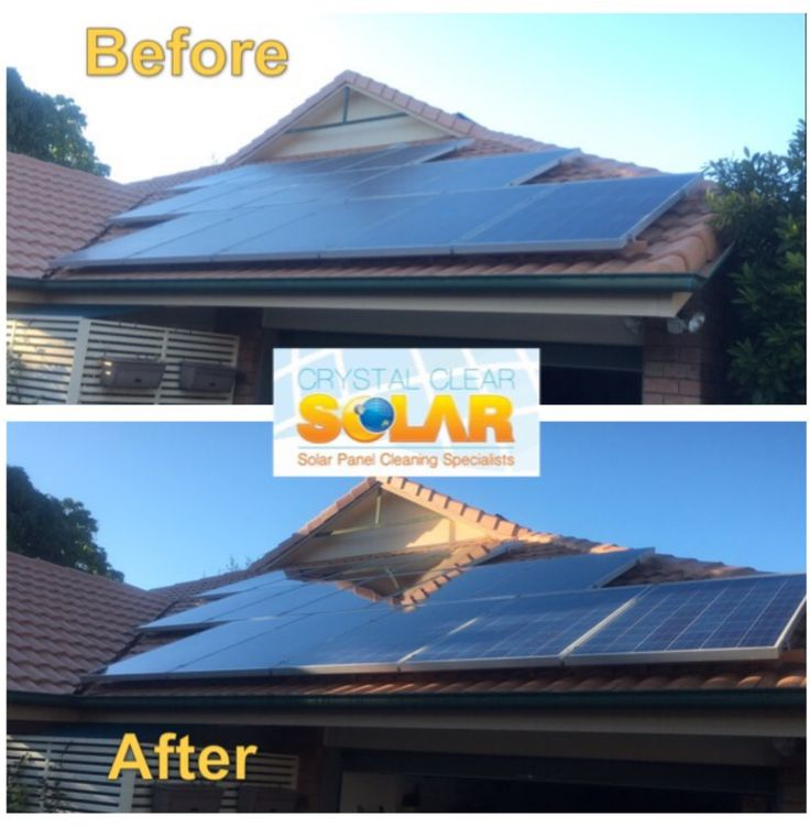 A yearly cleaning of your solar system will increase your efficiency of up to 30%
