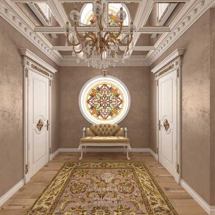 Дизайн холла в ЖК «Резиденция Рублево» http://www.line-mg.ru/dizayn-doma-rezidenciya-rublevo