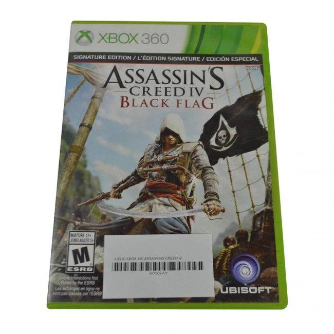 Juego Xbox 360 Assassins Creed IV Original - Juegos de Consola - TV, Consolas y Juegos - Tecnología - Sensacional