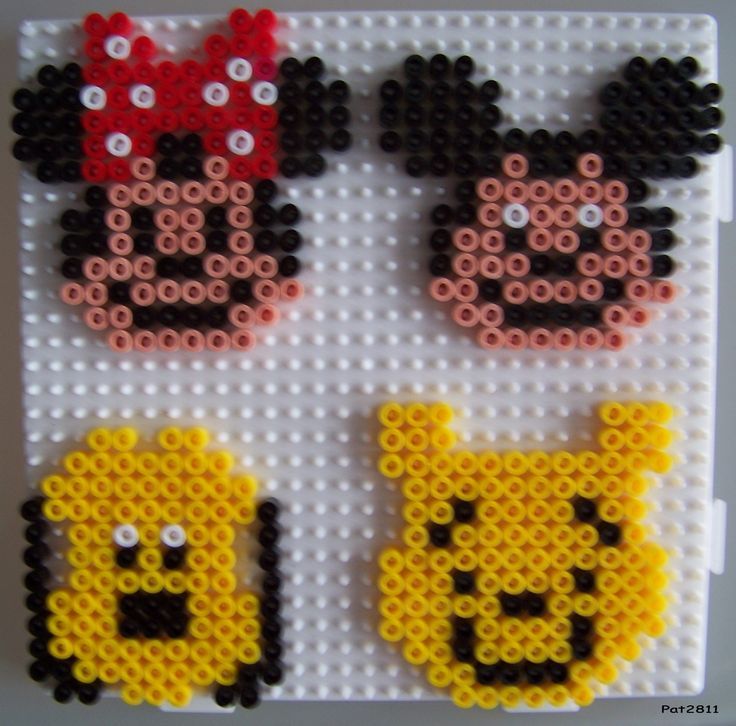perles a repasser disney les loisirs de pat perler beads pinterest disney and hama disney. Black Bedroom Furniture Sets. Home Design Ideas
