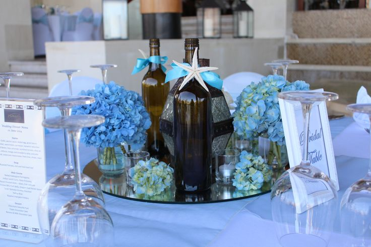 wedding reception table decor