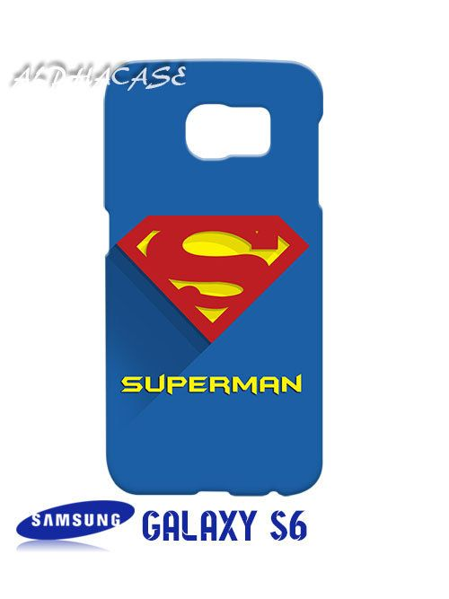 Superman Superhero Samsung Galaxy S6 Case