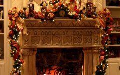 Latest Fireplace Xmas Decorations Gallery