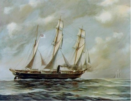 """An English """"sea shanty"""", or shipboard working song, it chronicles the history of the most successful ship in the Confederate Navy, the C.S.S. Alabama.  The original author is unknown."""
