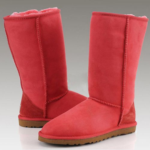 UGGS Boots Classic Tall 5815 Tomato Red For Sale , ugg boots black friday sale,uggs black friday deals