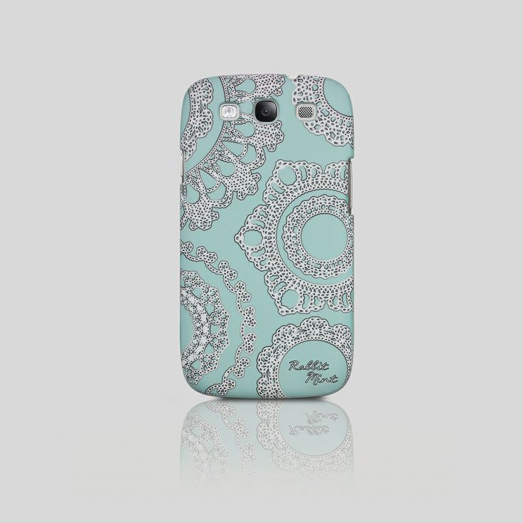 Samsung Galaxy S3 Case - Lace on the Mint (P00006)