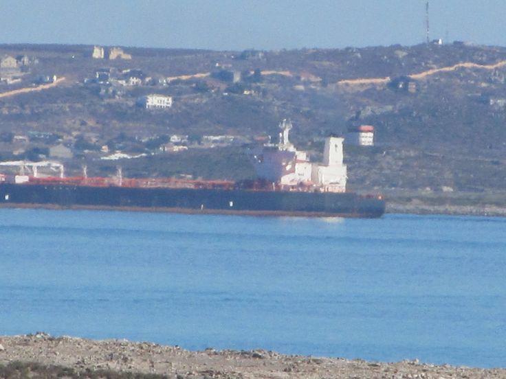 View onto Saldanha harbour !