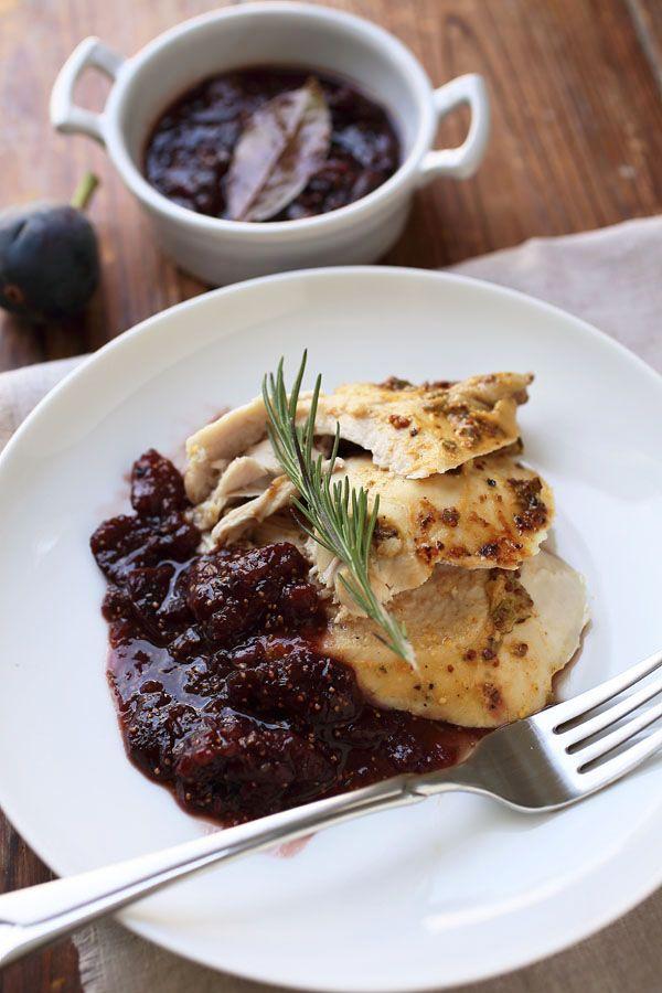 Соус из Инжира и Индейка / Fig Sauce & Turkey Breast
