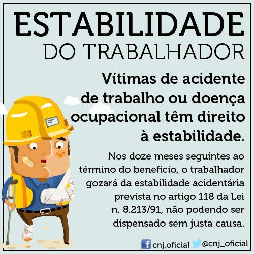 Estabilidade do trabalhador
