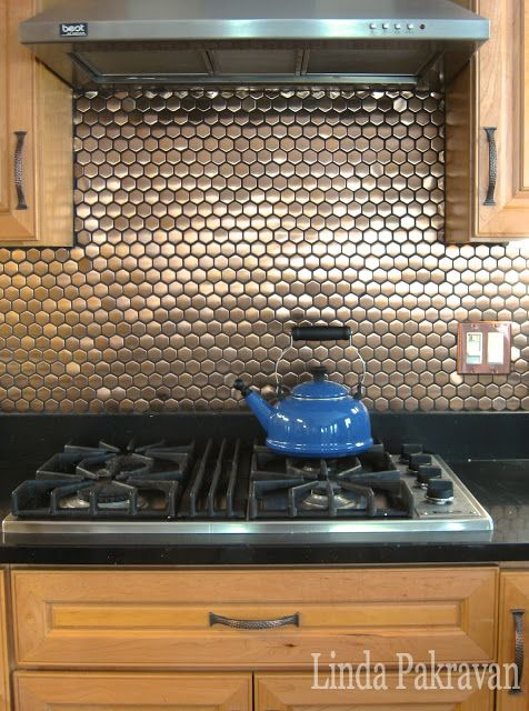 kitchen with metal backsplash 17 best images about backsplash on copper 6531