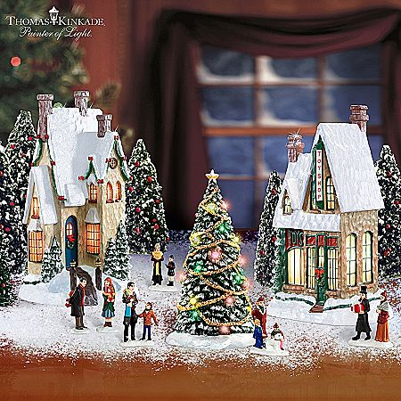 The 25+ best Christmas village collections ideas on Pinterest ...