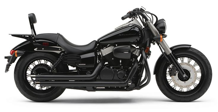 2012 Honda Shadow Phantom w/Cobra Streetrod Slashdown Exhaust. Yes please.