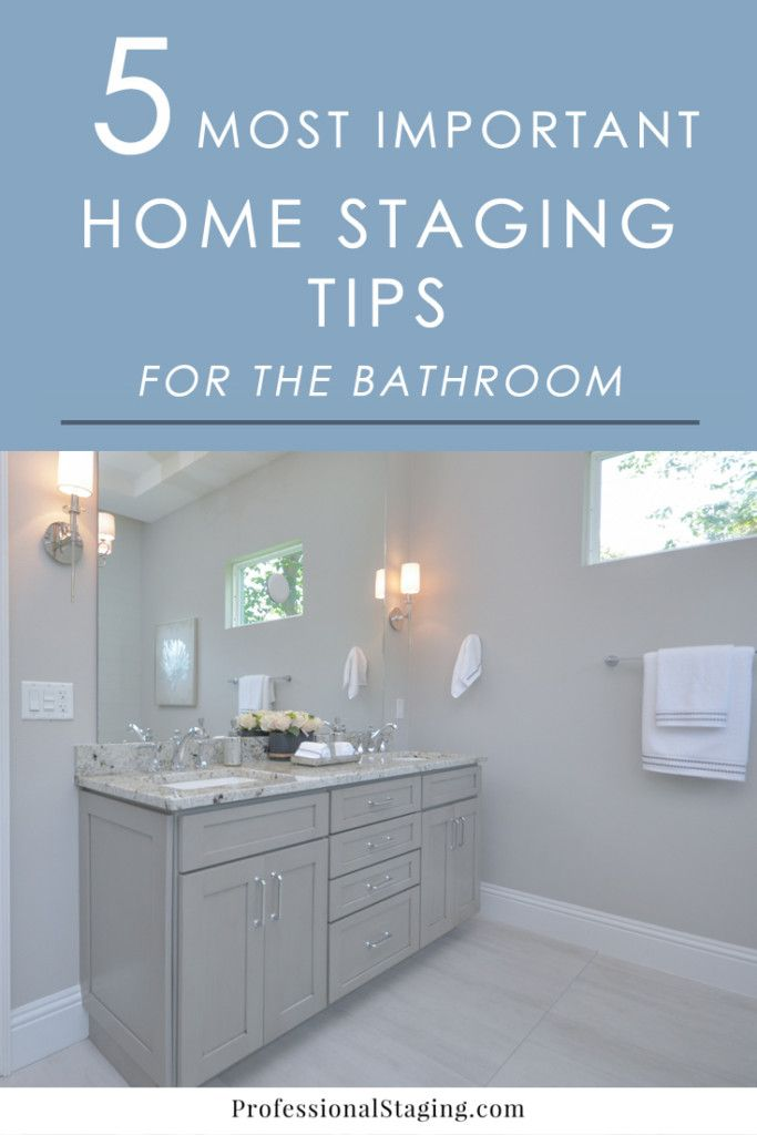 Did you know your bathrooms can be a major selling feature to home buyers? Here are some easy home staging tips that will help you get more…
