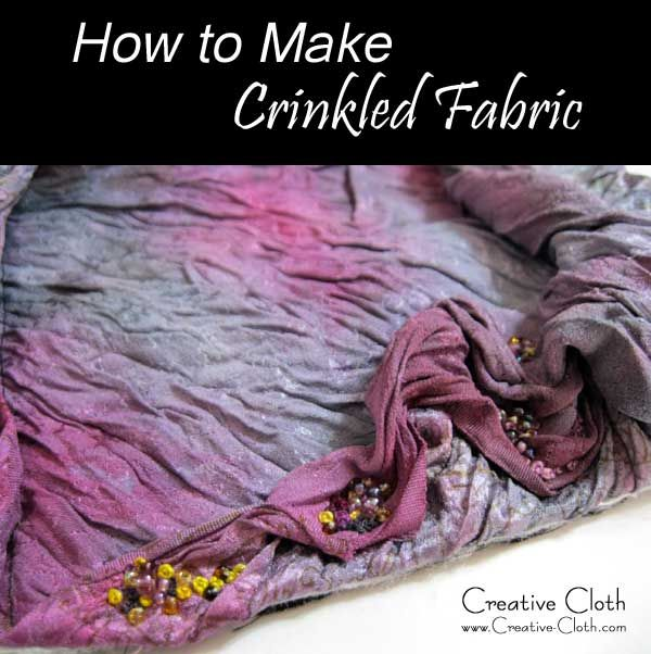 how to make chenille fabric