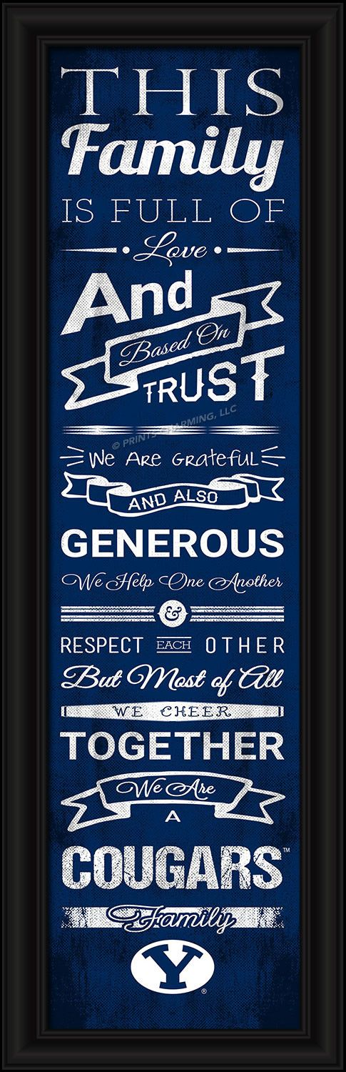 Brigham Young/4865504720/848655047205/_B_ This full-color print features an inspiring message and lets everyone know who your family cheers for. The finished piece measures 24 x 8…