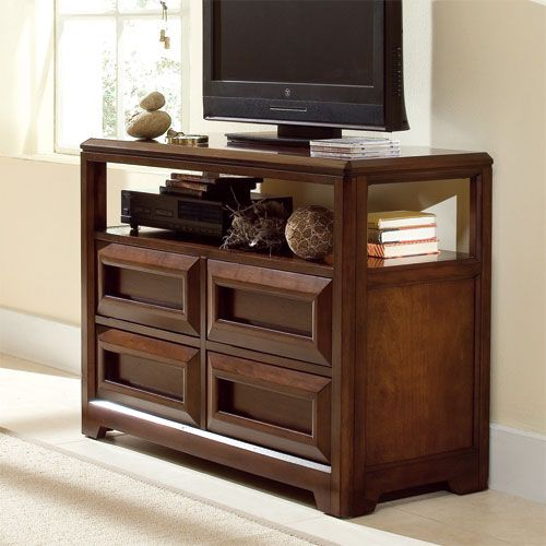 Awesome Media Cabinet with Drawers