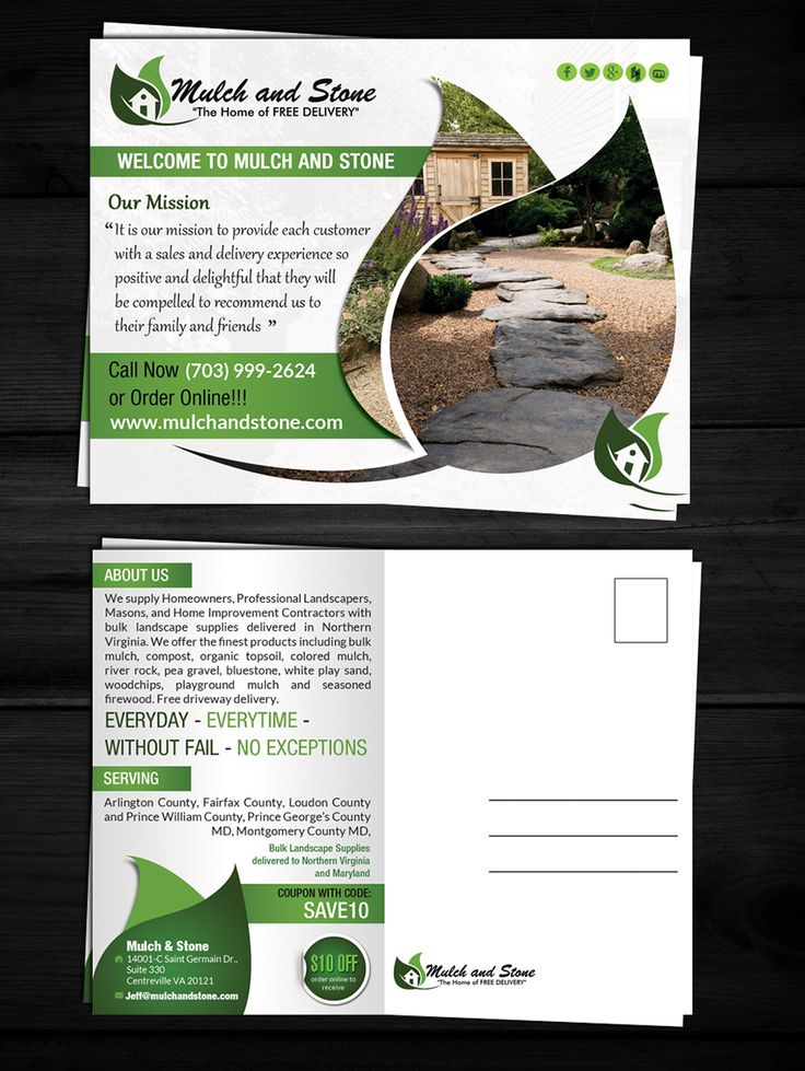 Postcard Design by ESolz Technologies for Need Post Card designed for Bulk Mailing standard size post card size 6 x 4 1/4 - Design #5559652
