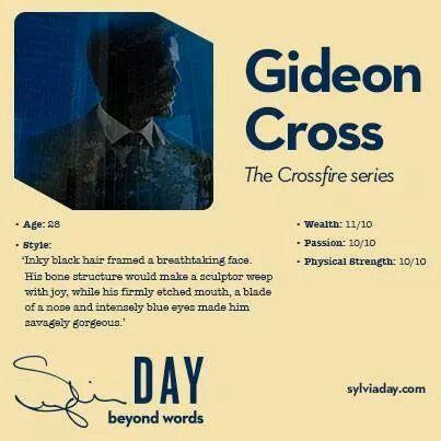 Gideon Cross - Crossfire Series - Sylvia Day