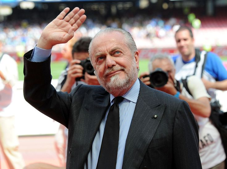 (www.napolifans.it) De Laurentiis Napoli-Siena