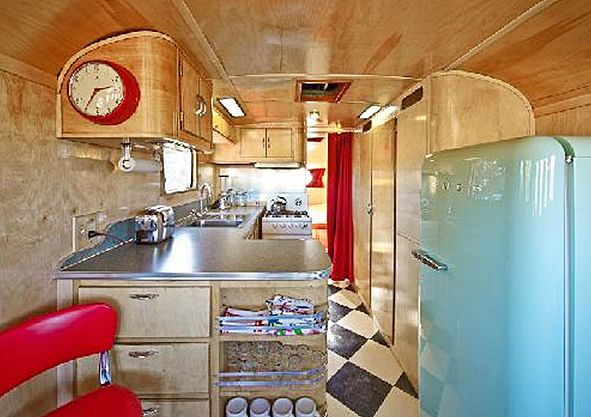 /\ /\ . Glamping– Mid-Century Style