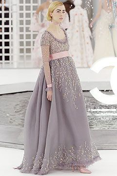 Chanel Spring 2005 Couture Fashion Show - Carmen Kass