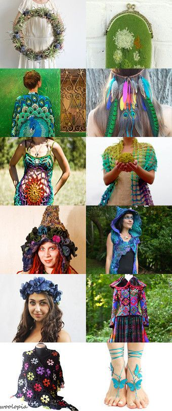 Hippie rulez! by Skadia Bojakowska-Radwan on Etsy--Pinned with TreasuryPin.com