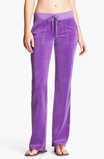 Juicy Couture Velour Pocket Pants available at #Nordstrom