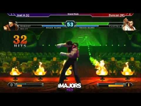 Northwest Majors 4 - King of Fighters XIII Grand Finals - Joel A (IOR/ROB/BIL)vs Duncan (DUO/VIC/TAK) #KOFXIII