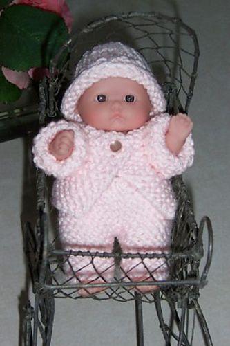 "5"" Berenguer baby doll pattern"