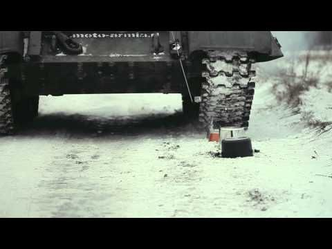 AMT Gastroguss - Tank in the snow - YouTube