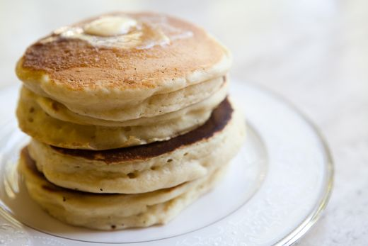 The Queen's Drop Scones - A recipe given to President Eisenhower by Queen Elizabeth II for drop scones, also known as Scottish pancakes.